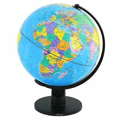 Exerz Educational Swivel World Globe Desktop Globe Dia 20CM 25CM 30CM • 22.99£