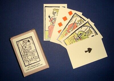 Medieval Fifteenth Century Historic Reproduction Playing Cards • 12.45£