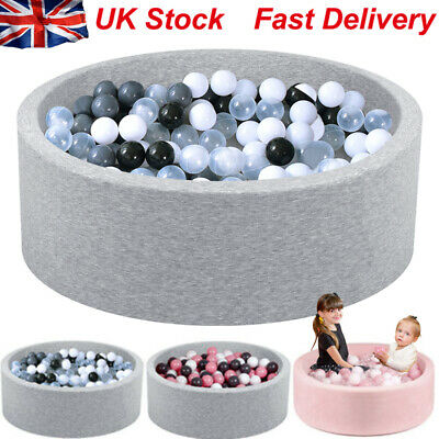 SUDOO Soft Baby Ball Pit Paddling Pool With 200Balls Match  Teepee Play Tent UK • 72.99£