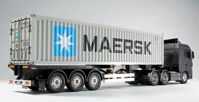 Tamiya 1/14 40ft Container And Semi Trailer # 56326 • 500£