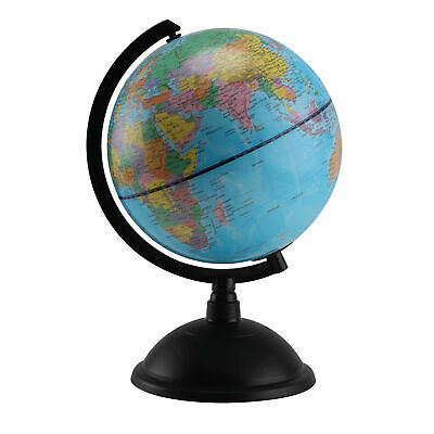 Rotating Earth Globe World Map Swivel Stand Geography Educational Toy 20 Cm  • 11.99£