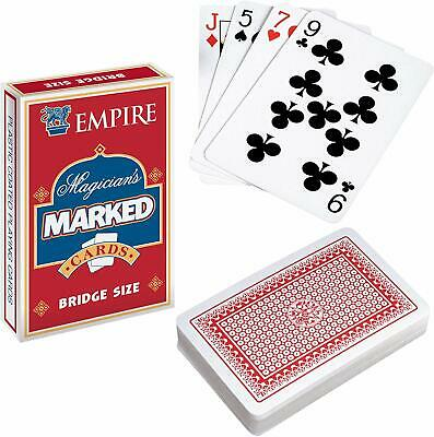 Secret Marked Playing Cards Magic Tricks Poker Fun Mens Boys Christmas Present • 2.99£