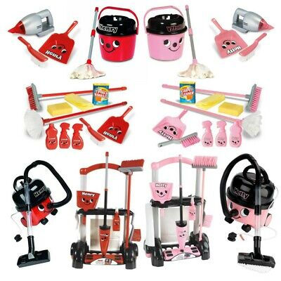 Henry Hetty Cleaning Trolley Vacuum Cleaner Hoover Casdon Kids Fun Role Play Toy • 14.99£
