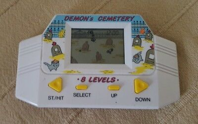 Demon's Cemetery Electronic LCD Handheld Retro Vintage Classic Game Very Rare • 19.99£