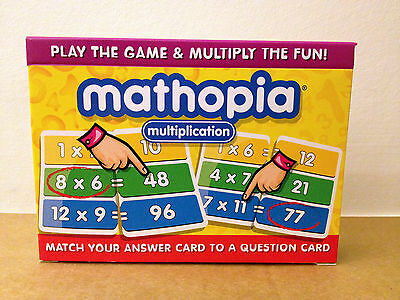 Mathopia Multiplication Card Game • 5.99£