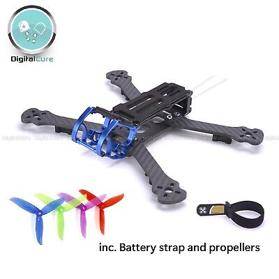 Rooster 230 5  225mm Carbon Fiber Freestyle FPV Quadcopter Frame +DALPROP T5046C • 39.95£