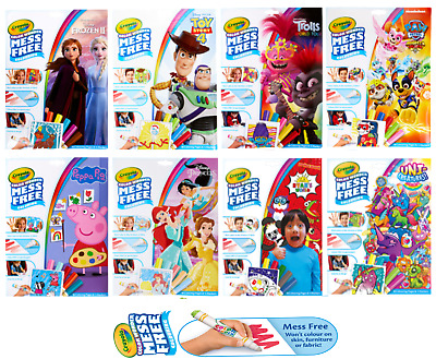 Crayola Colour Wonder - Mess Free Colouring - Various Themes & Characters 4 Kids • 6.40£