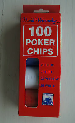 David Westenedge 100 Poker Chips • 5£