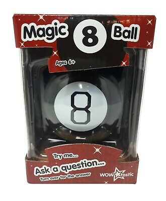 Magic 8 Ball Fortune Future Teller Mystic Executive Toy Novelty Gift WOW Tastic • 8.95£