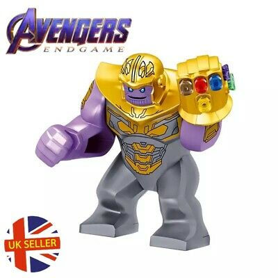 Thanos Mini Figure Gold Gauntlet  Armour Avengers End Game Marvel UK Seller • 4.99£