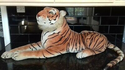 Cuddly Soft Large Bengal Tiger • 15£