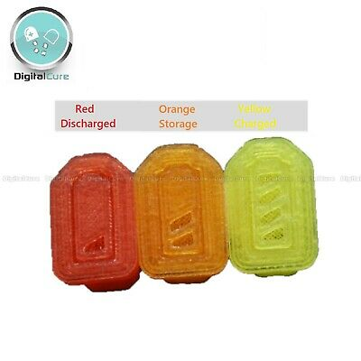 5-Pairs Lipo Silicone Charge Indicator Protector Travel Caps XT60 Or XT90 • 6.75£