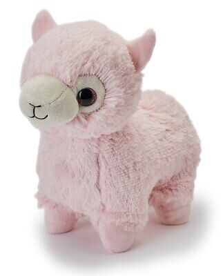 Warmies Cozy Plush Fully Microwavable PINK ALPACA Lavender Scented Heatable Toy • 17.95£