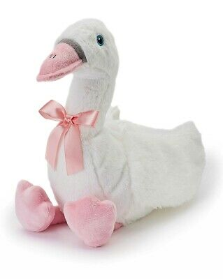 Warmies Cozy Plush Fully Microwavable CUDDLY SWAN Lavender Scented Heatable Toy • 15.96£