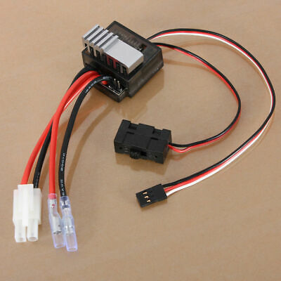 320A ESC Brushed Brush Speed Controller RC Car Truck Boat Reverse 1/8 1/10 UK • 7.35£