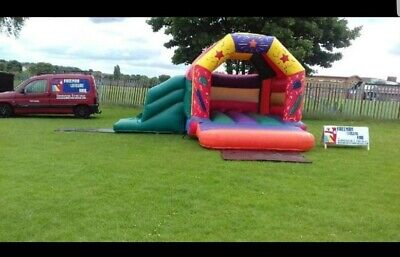 Bouncy Castle With Slide And Blower For Sale • 600£
