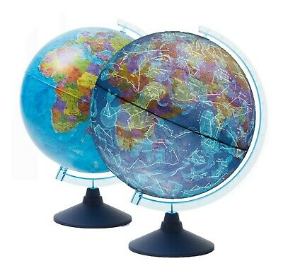 AR Constellation Cable-Free Illuminated Globe LED Light Up Dia 21cm Kids Gift • 19.99£