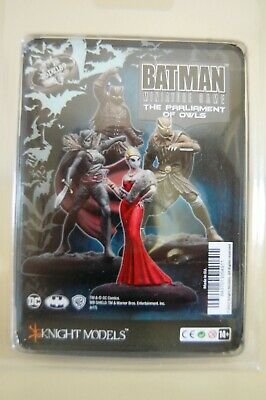Batman Miniature Game - The Parliament Of Owls - DC Universe - Knight Models  • 33£