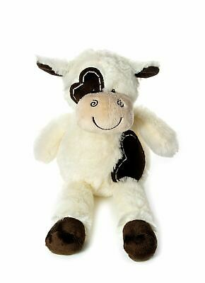 Mousehouse 30 Cm Very Soft Cream & Brown Cow Soft Toy Cuddly Toy • 9.99£