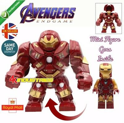 Avengers Iron Man Red Hulk Buster Mini Figure End Game Marvel Mk85 UK Seller • 5.99£