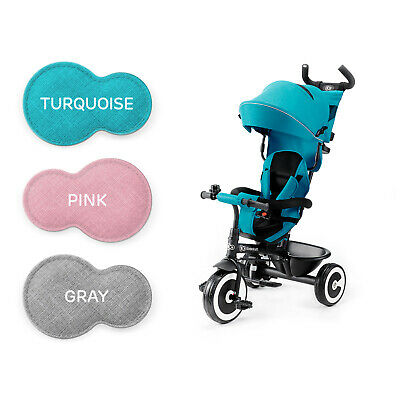 Kinderkraft Tricycle ASTON Baby Push Trike Kids First Bike Pushchair Colors • 79.95£