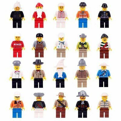20x MiniFigures Professions Construction Building Use With Lego Educational Toy  • 9.99£