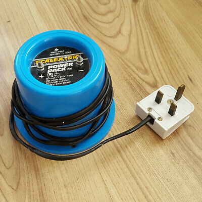Scalextric Classic Power Pack Supply C919 Transformer - Blue Round Type 13.5V • 7.99£
