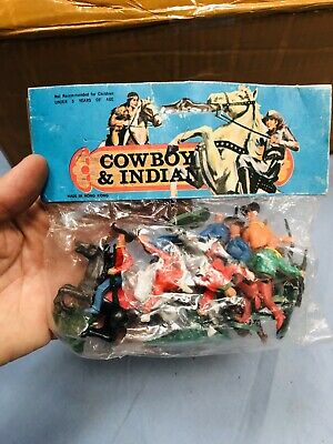 Toy Soldiers Type Nardi Cowboy Wild West Hong Kong L@@K Vintage • 14.26£