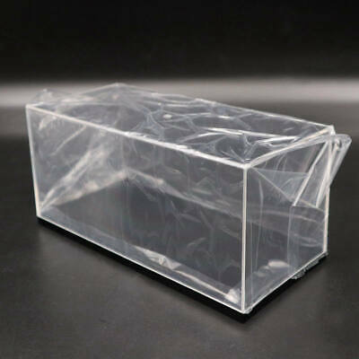 Lots Of Model Toy Car Acrylic Display Cases Transparent Dust Proof Box With Base • 23£