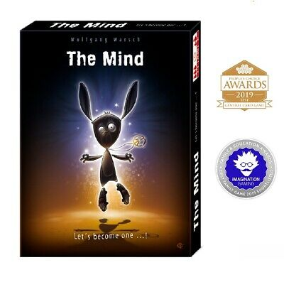 The Mind Card Game Family Friends Cards Game Interactive Fun Awarding Winning • 9.29£