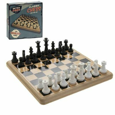 Vintage Retro Ridleys Family Board Game Classic Chess Set Game New & Boxed • 7.95£