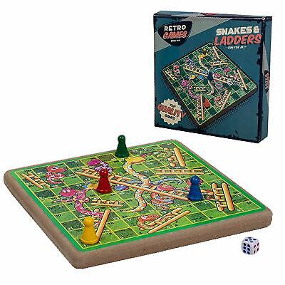 Vintage Retro Ridleys Family Snakes And Ladders Classic Board Game New And Boxed • 6.95£