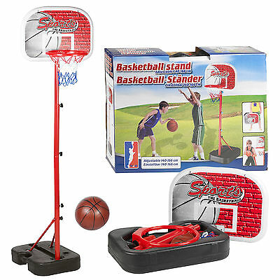 New Portable Kids Basketball Net Hoop Backboard Ball And Pump Included • 17.95£