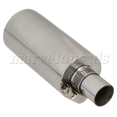 1x Stainless Steel Exhaust Silencer Muffler For Rc Boat Silver Articles • 18.94£