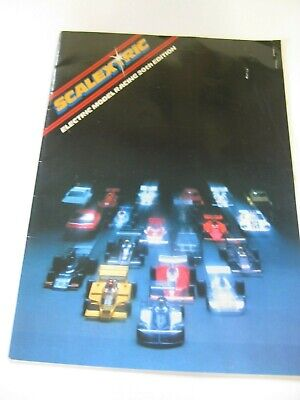 SCALEXTRIC CATALOGUE 20th Edition Very Good Condition 1979 Price List Stapled In • 8£