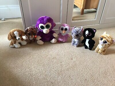 Collection Of 7 Beanie Boos • 19.99£