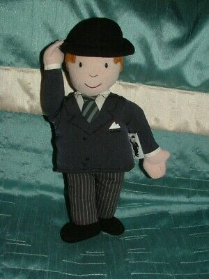 Mr Benn Beanie Plush Soft Toy Mr Benn 9  Beanie By Golden Bear Products • 26.99£