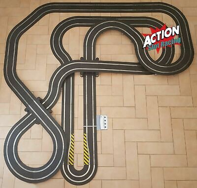 Scalextric Sport 1:32 Track Set - Huge Layout DIGITAL AS8 • 149.99£