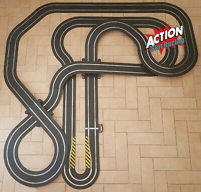 Scalextric Sport 1:32 Track Set - Huge Layout AS8 • 144.99£