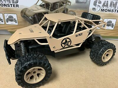 Rechargeable Buggy Car Remote Control Rc Sand Monster Truck Sand Monster 4x4 • 24.99£