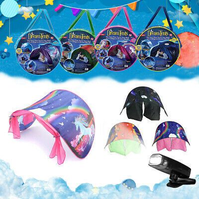 Kids Dream Tents Unicorn Dinosaur Space Foldable Pop Up Tent Bed Playhouse Gifts • 19.99£