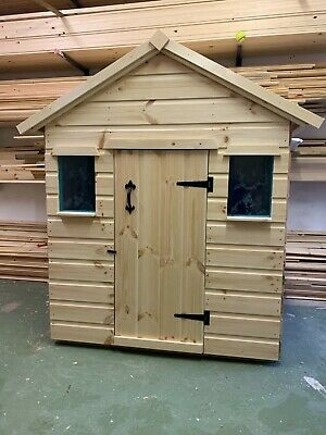 Childrens Wooden Play House/Wendy House 4' X 3' X 5ft High - CAN DELIVER • 189.99£