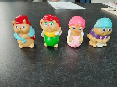 Playskool/hasbro 1985 X 4 Original Mini Gloworms  • 30£