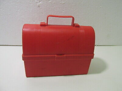 Vintage 1962 Fisher Price Miniature Red Plastic Lunch Box #549 T5102 • 3.94£