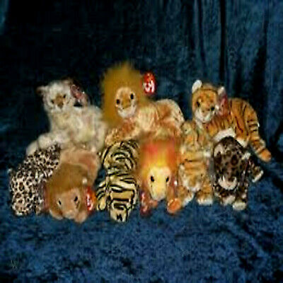 Big Cats ***ty Beanie Babies***  • 3.25£