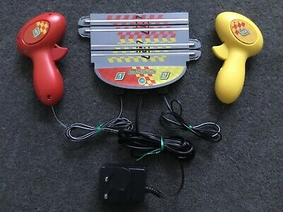 Micro Scalextric My First Scalextric New Design Power Base, Adapter, Controllers • 4.25£