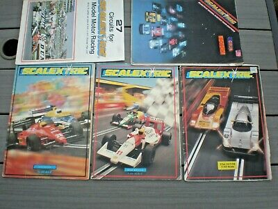 Scalextric  27 Circuits For Scalextric  + Catalogue Editions 30th 31st 32nd • 10.99£