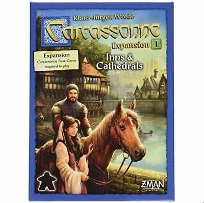 Carcassonne Expansion 1: Inns & Cathedrals  - Brand New & Sealed • 17.97£
