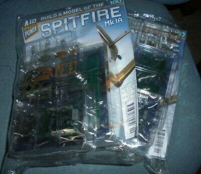 BUILD A MODEL OF THE SPITFIRE Mk 1A - #1 TO 35> + BINDER - NEW/COMBINED POSTAGE • 18.99£