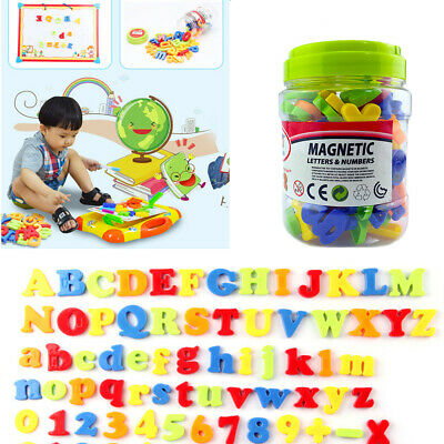 78PCS Xmas Magnetic Alphabet Letters Gift Magnets Numbers Fridge Learning Toy • 6.75£